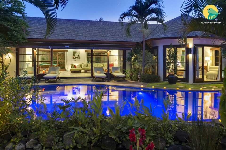 fully furnished 2 bedroom villa