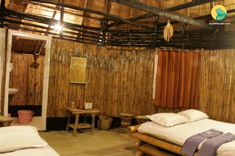 4 Bamboo Cottages To Stay