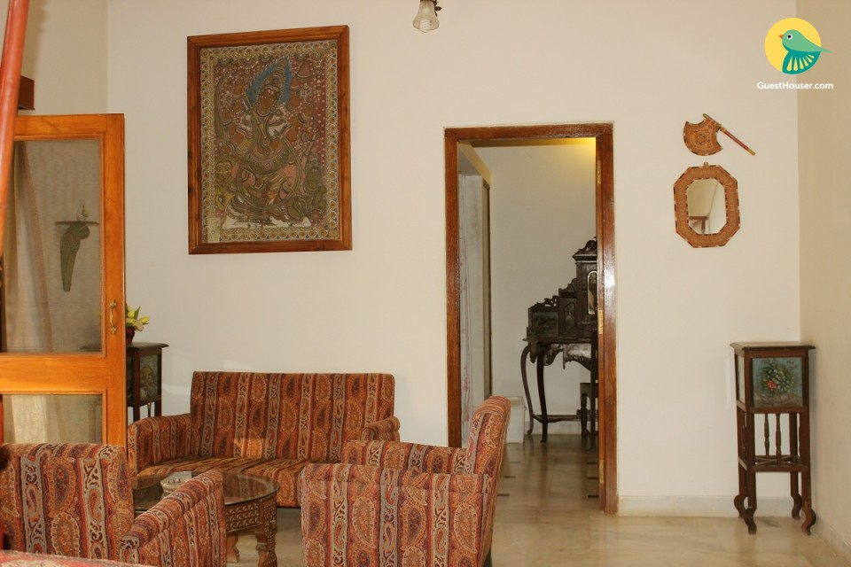 Spacious rooms to stay in villa