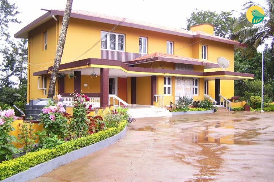 Well-appointed stay, 750 m from Madikeri Fort Museum