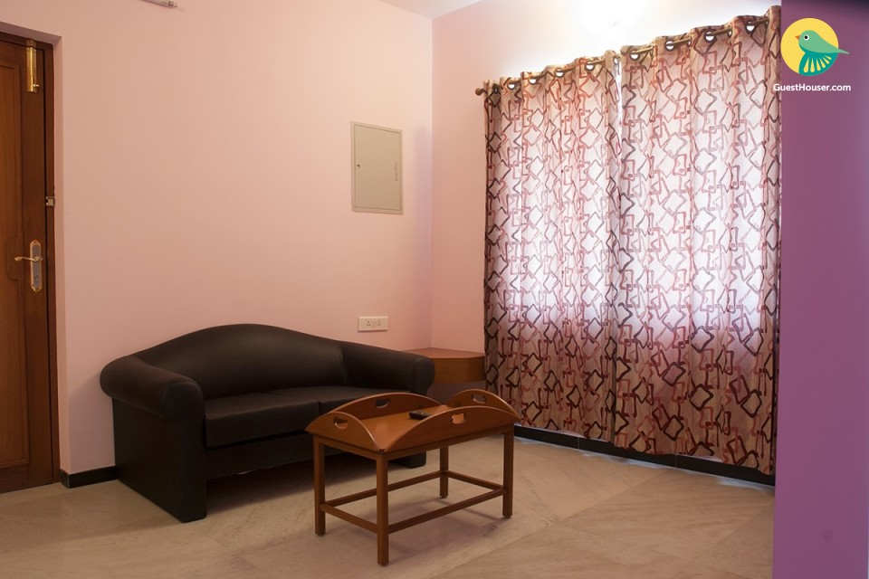 Budget 1 BHK apartment for 3