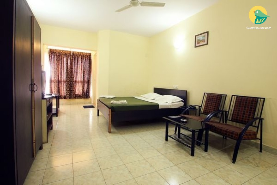 Well-furnished 1-bedroom in a boutique stay for a restful stay