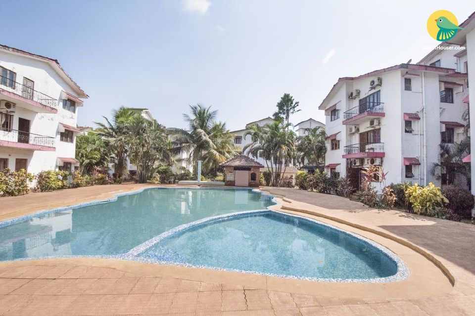Well-appointed stay with a shared pool, near Calangute Beach