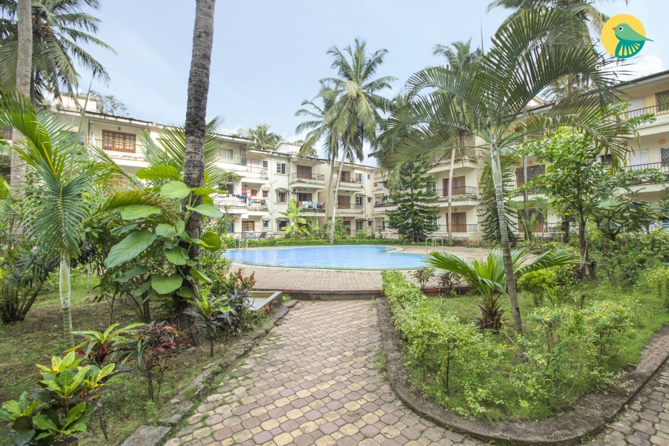 Well-appointed 2 BHK,  near Calangute Beach