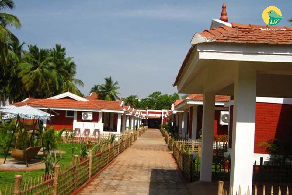 A Group of 10 Villas for Relax and Hygienic Group Stay