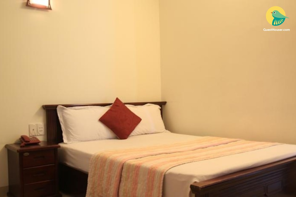 double bedded room to stay