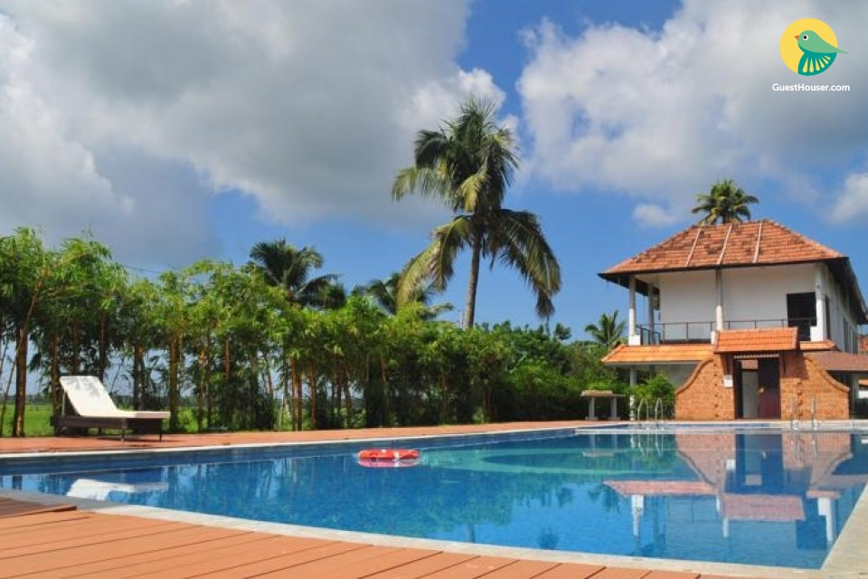 Luxurious 2 bedroom villa In Alleppey