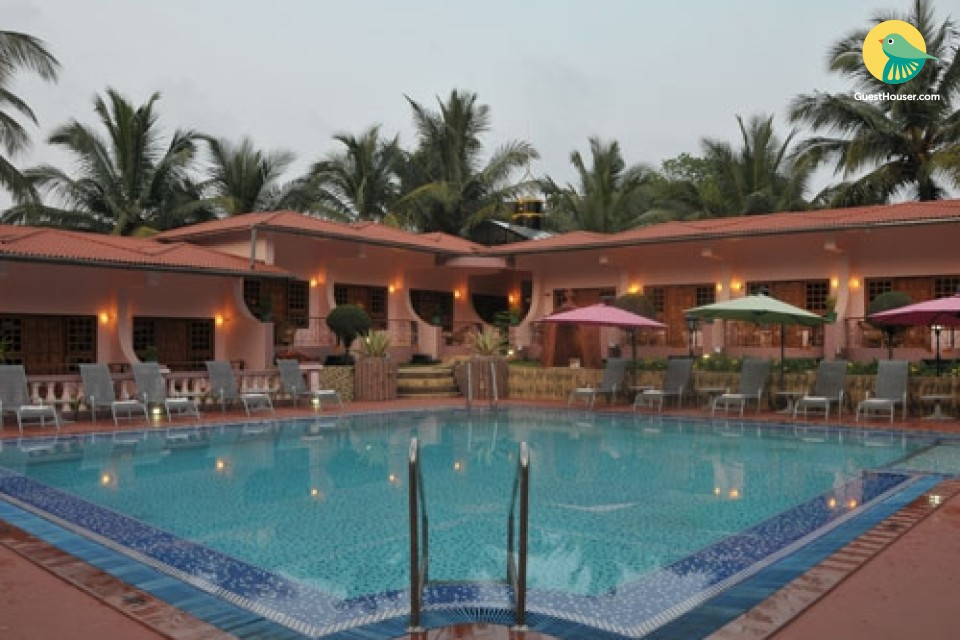 Pet friendly boutique stay, 2.3 km from Anjuna beach