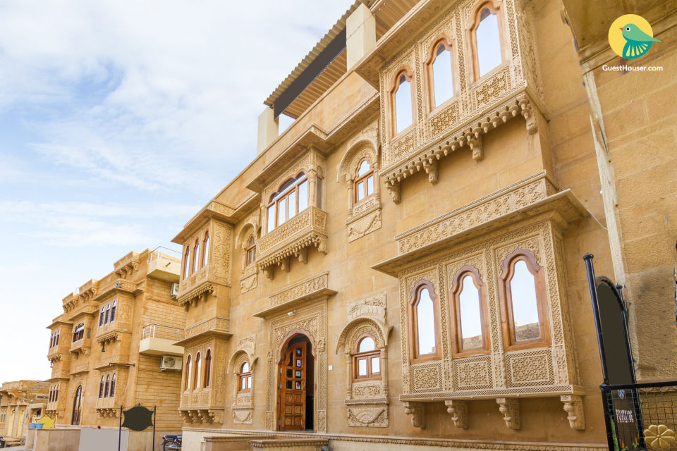 Commodious abode for three, 350 m from Jaisalmer Fort