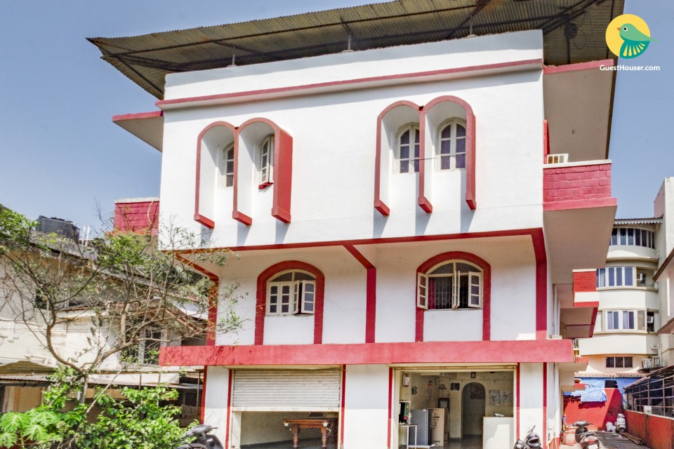 Comfortable single room for couples, 2.6 km from Calangute beach