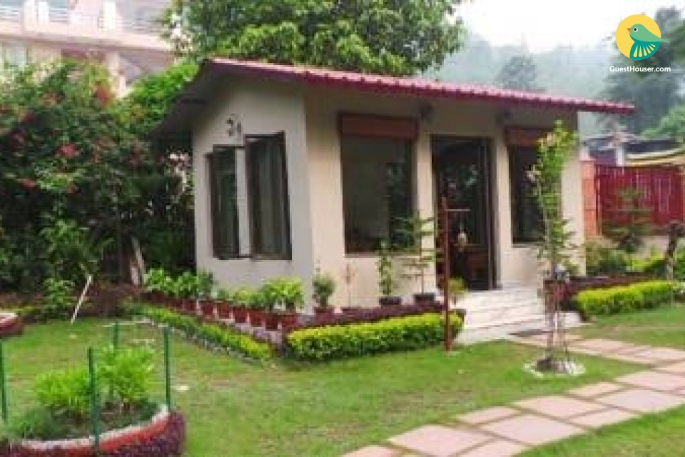 Elegant stay for three, set amidst peaceful environment