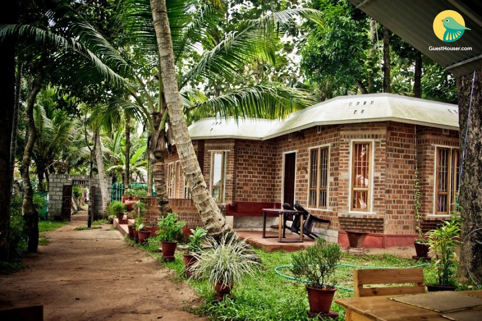Quaint abode for 3, near Kollam