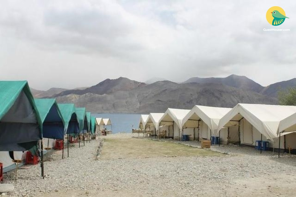 Posh property near Pangong Lake