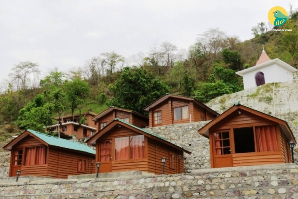 stay in Wooden Cottages