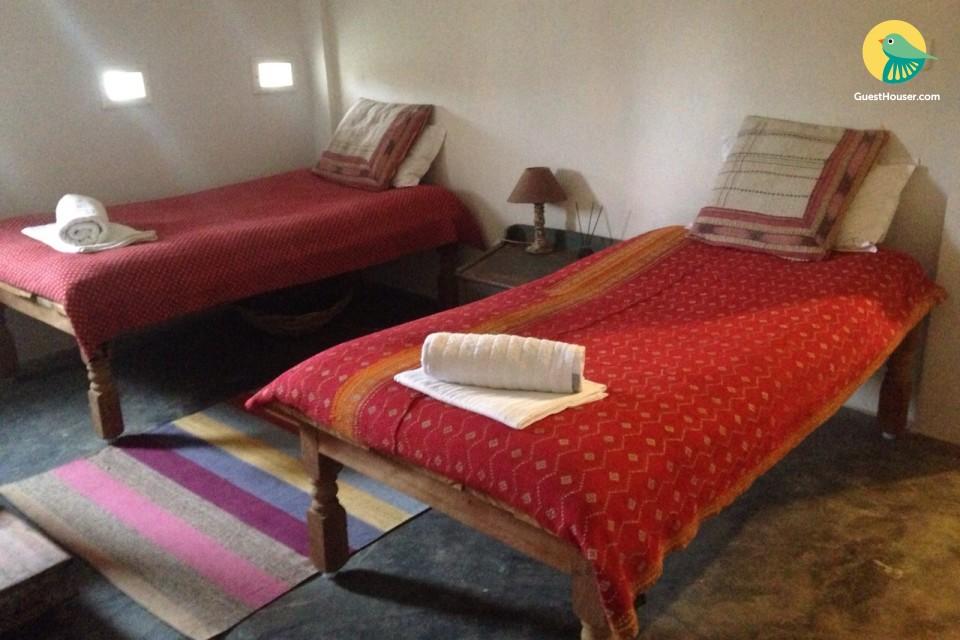 shanti devi ashram guest house