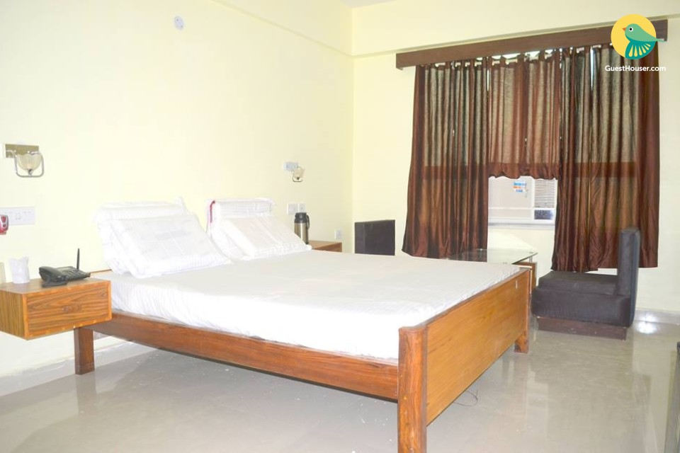 Spacious rooms to stay
