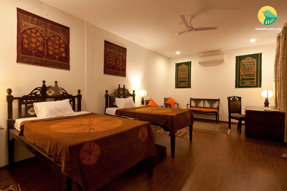 Plush stay in a Haveli-style property, ideal for a lavish getaway