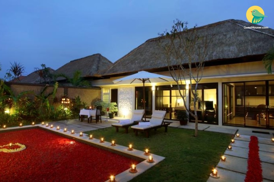 Unique villa for a stay