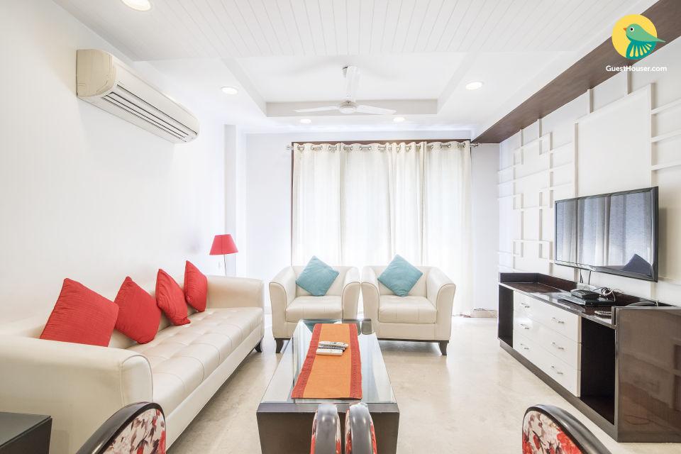 Elegant 3-BHK apartment, ideal for families