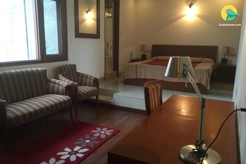 comfy 1 bedroom apartment