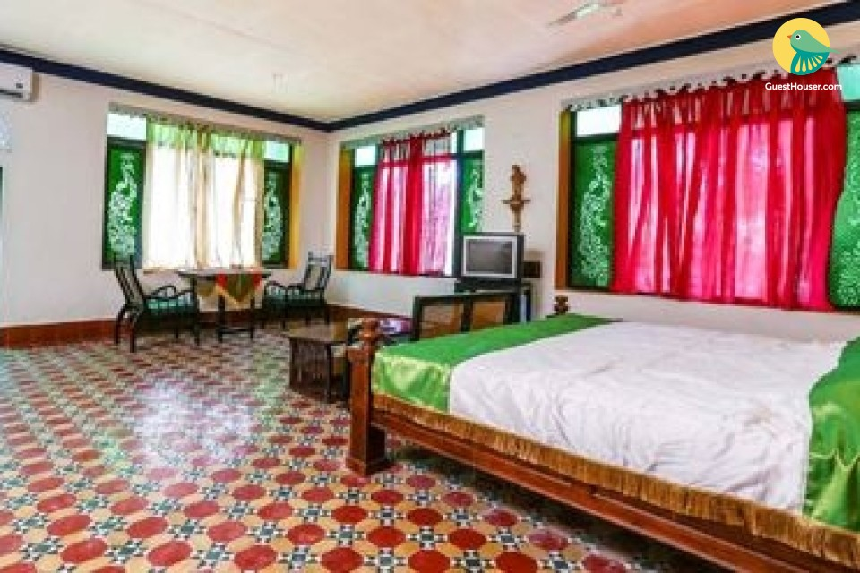 ethnically designed rooms