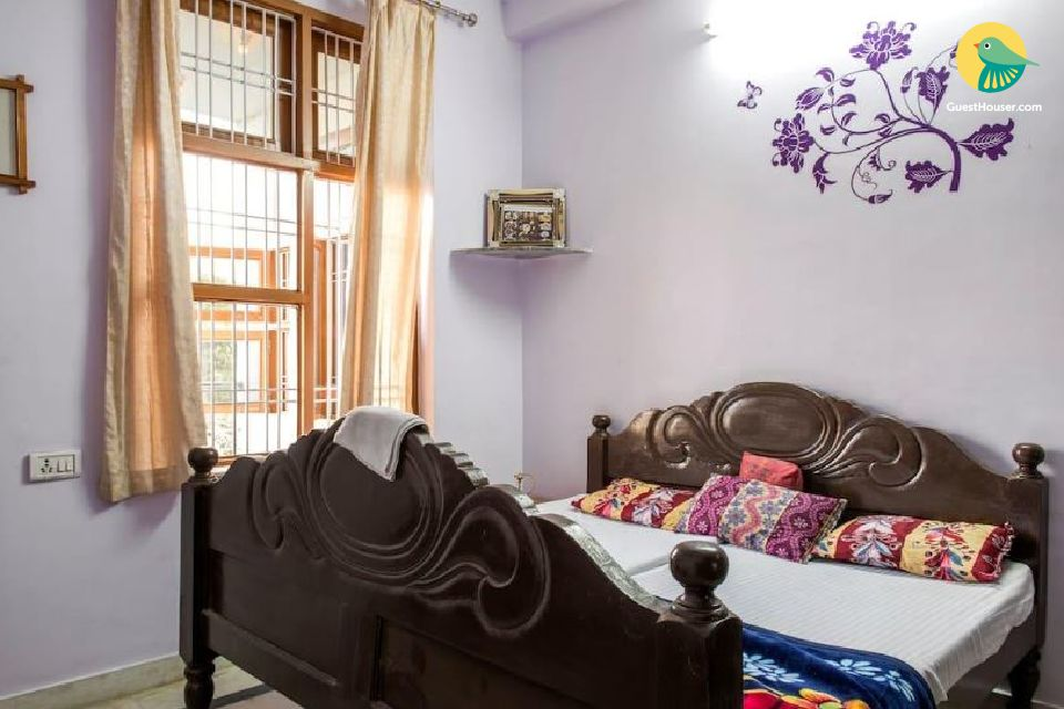 Restful room in a homestay, ideal for backpackers