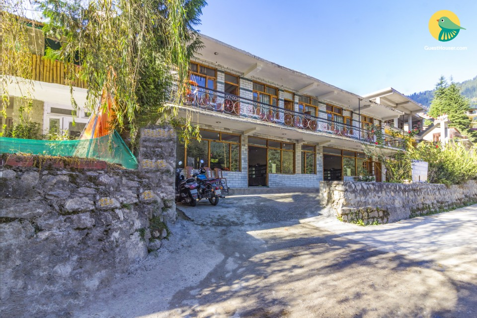 Capacious suite for 4 in Old Manali