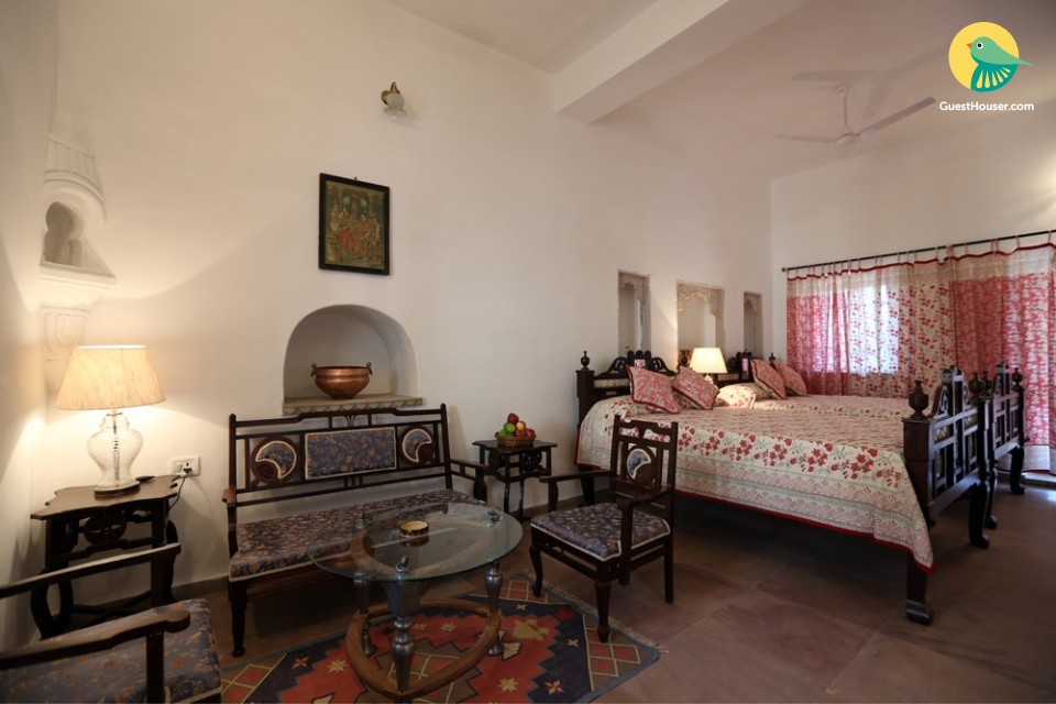 Stay at elegant suite of heritage property