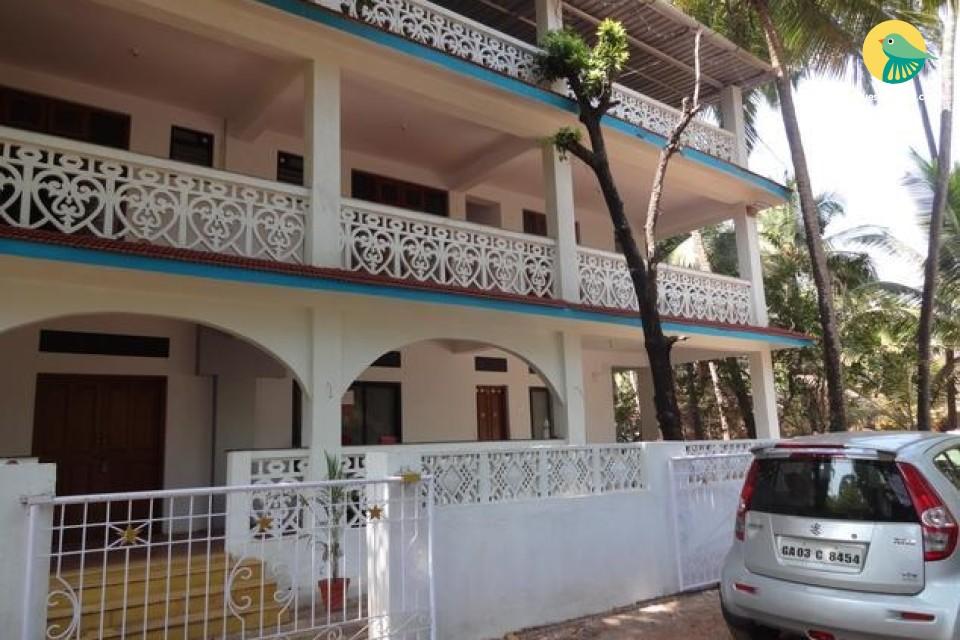 Capacious 10-bedroom homestay close to Anjuna beach
