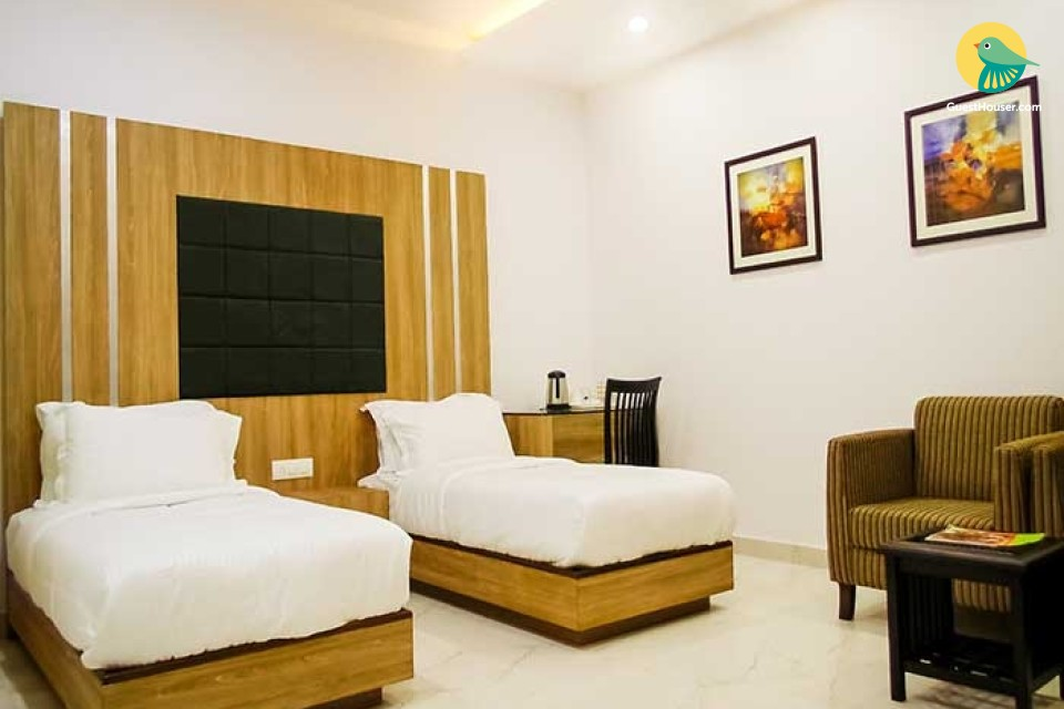 elegantly designed and furnished rooms