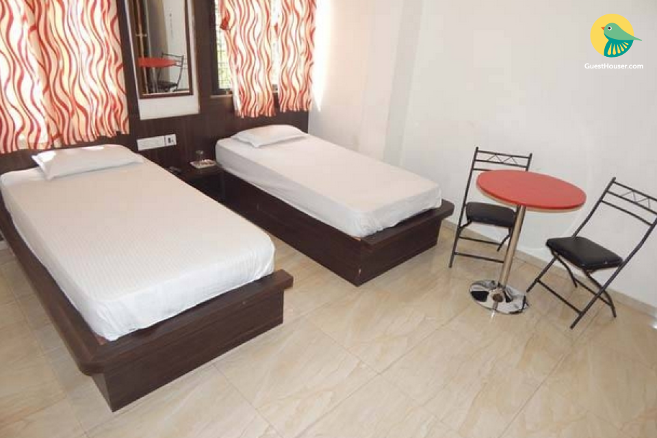 Restful room in a boutique stay, ideal for backpackers