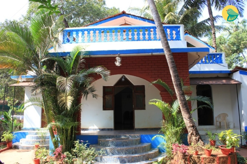 Charming homestay, 950 m from Anjuna beach