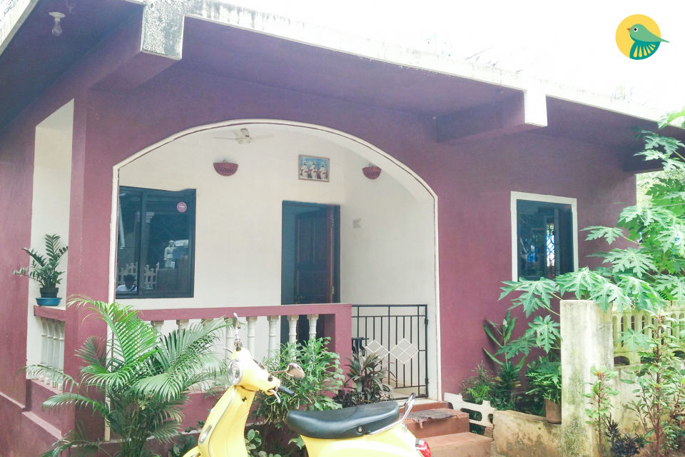 1-bedroom commodious villa, walking distance from Mandrem beach