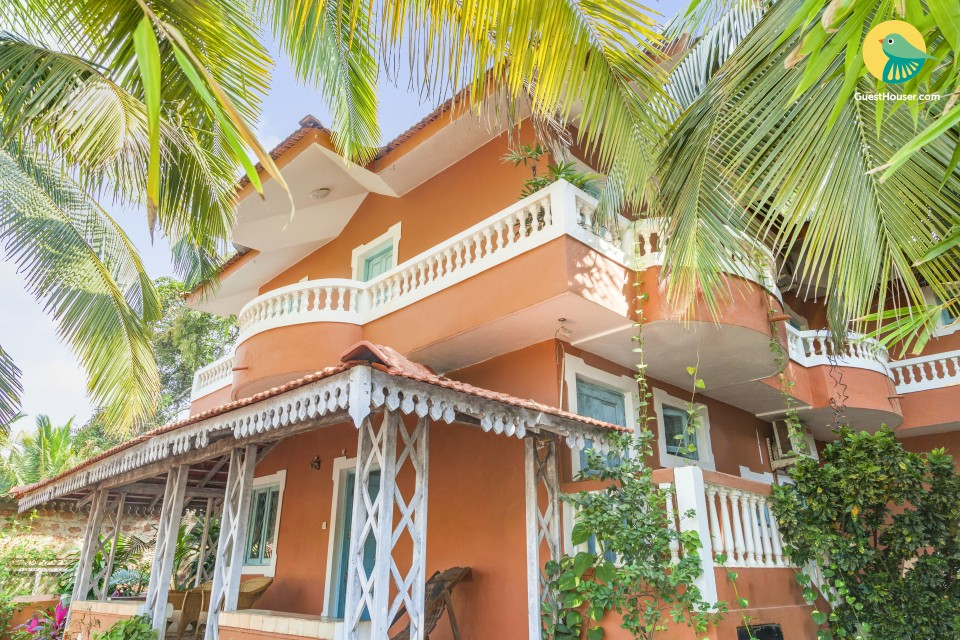 Archetypal family villa, 1.4 km from Calangute Beach
