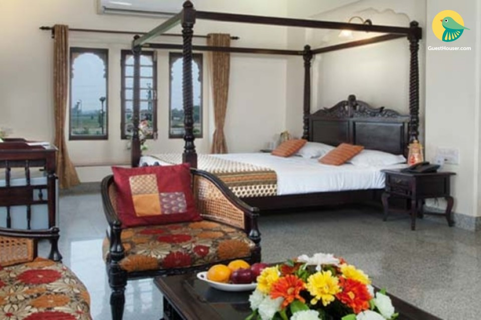 Maharaja suite for pleasant stay