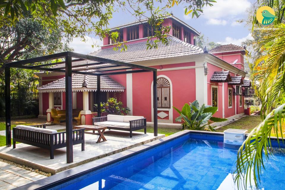 Gorgeous 4-bedroom Goan villa