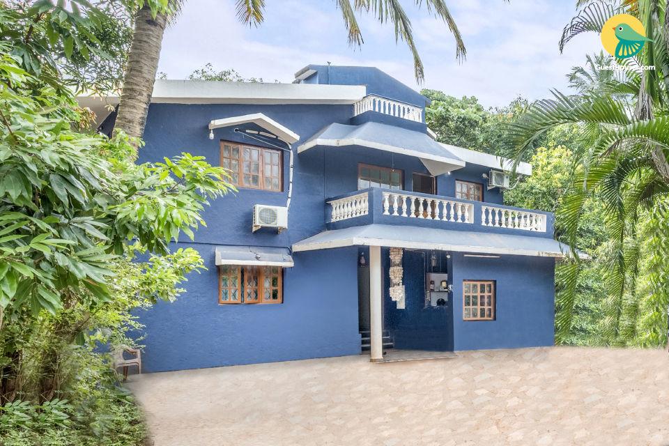 Astonishing 7-BR villa, near Calangute Beach