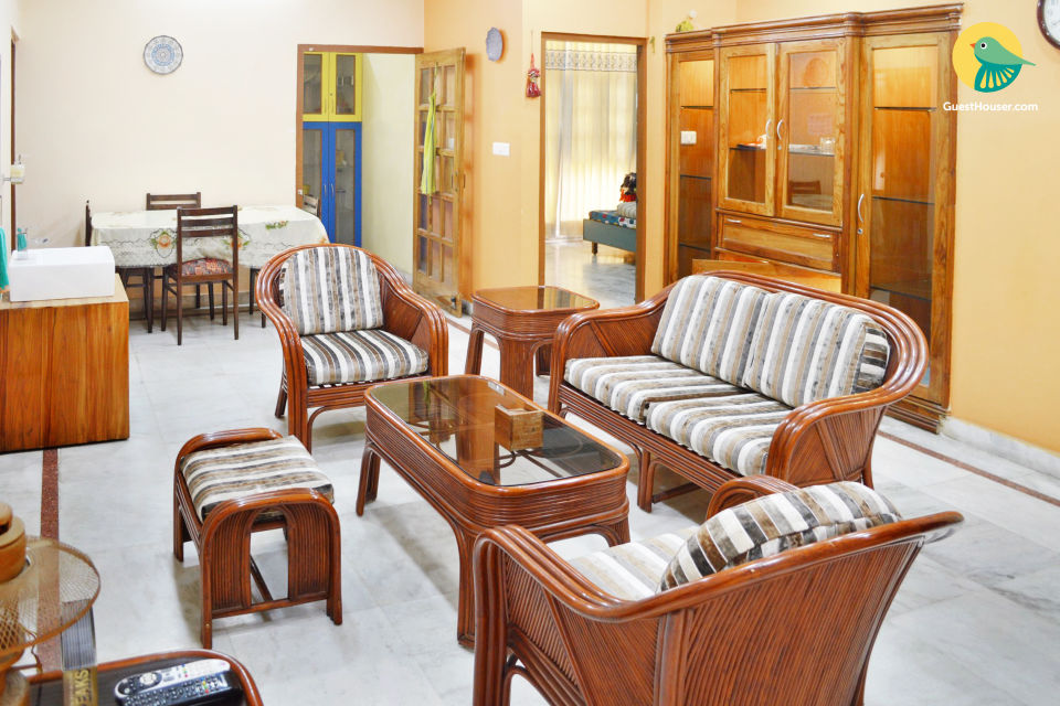 2BHK Fully furnished Home Stay, Serviced Apartment for 4 Guests in Gomti Nagar, Lucknow, India