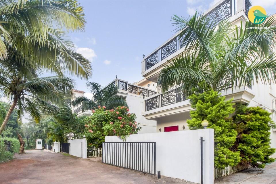 Spacious pet-friendly villa, close to Anjuna beach