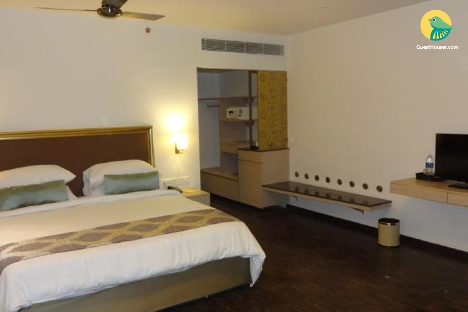 Chic boutique room, ideal for a romantic getaway