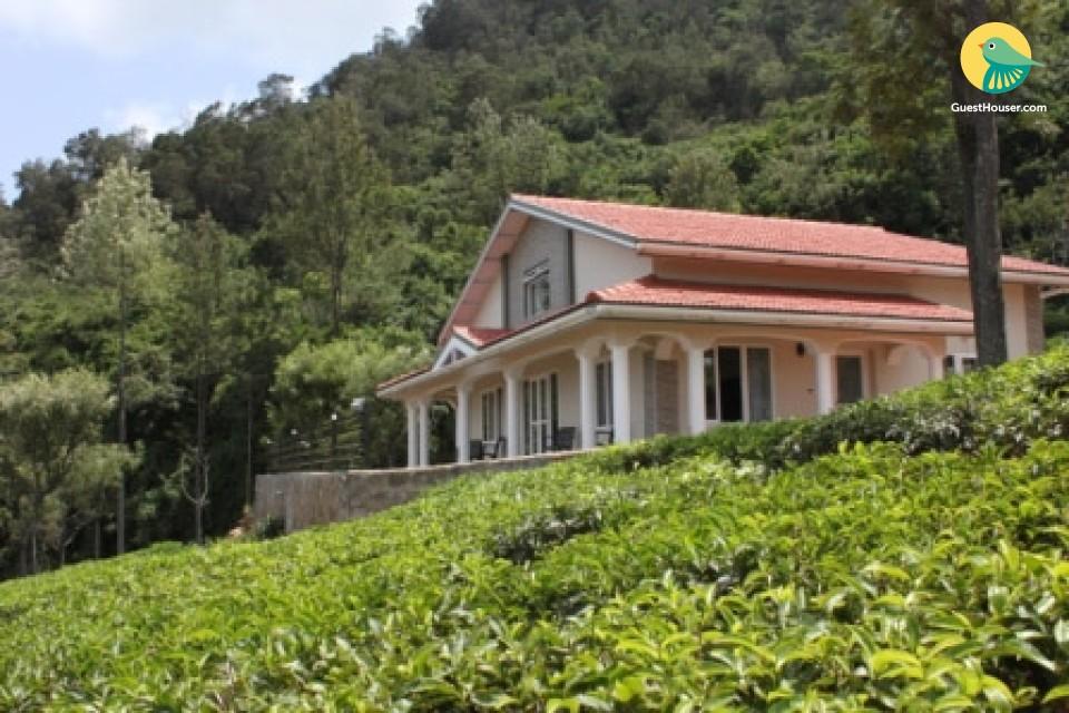 Panoromic view of nilgiri hills