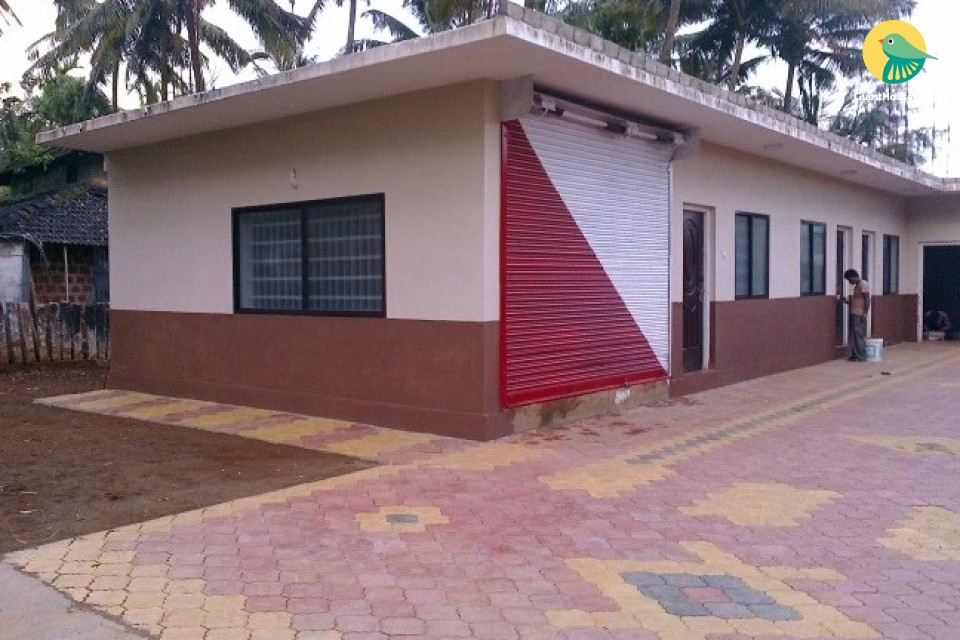 Affordable dormitory at serene place