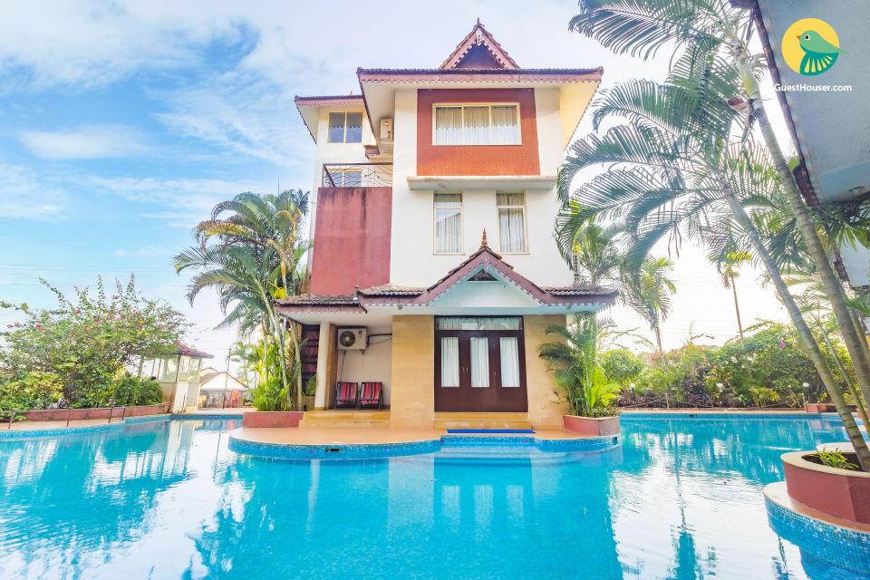 3 BR villas near Calangute Beach