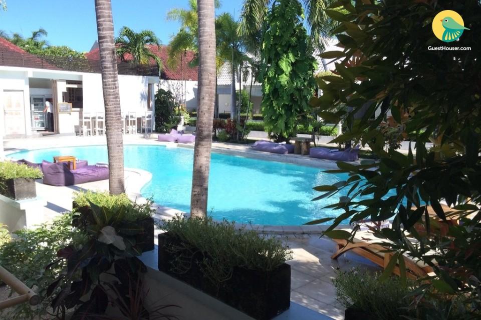 A Garden view villas