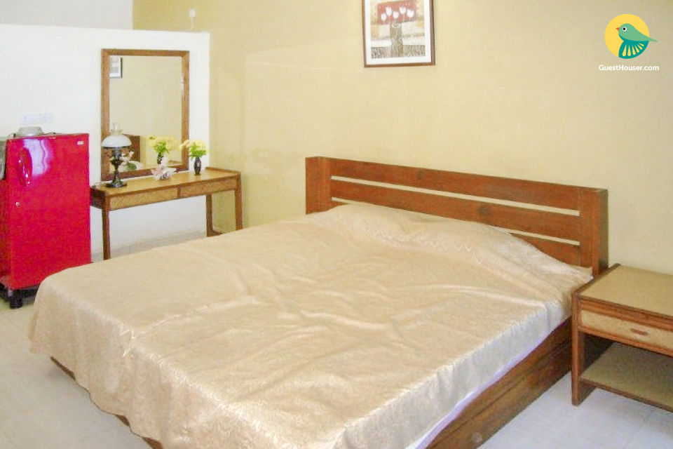 Spacious studio apartment, close to Candolim beach
