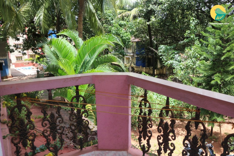 Relaxing apartment for backpackers, 850 m from Calangute beach