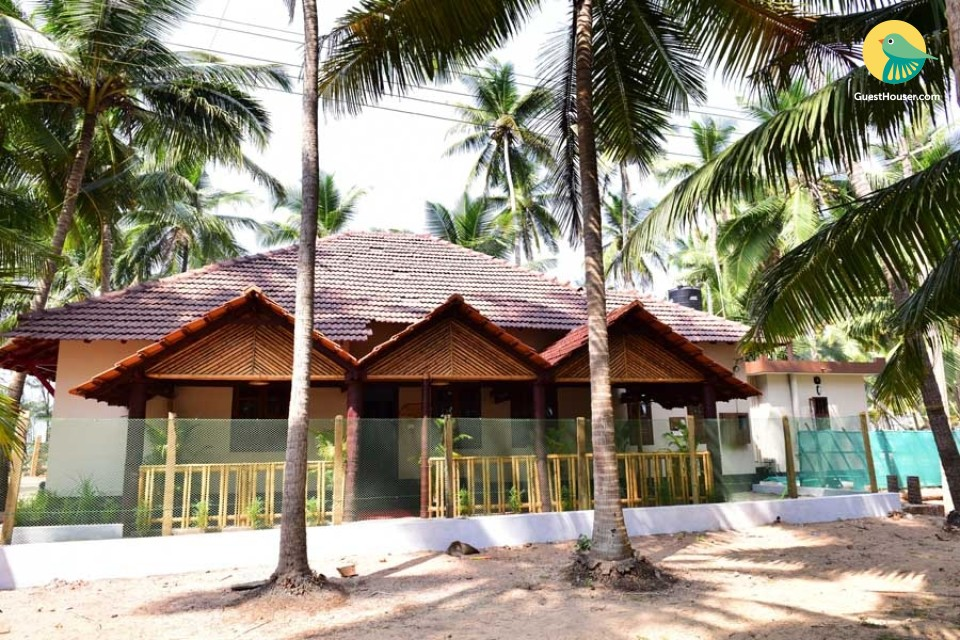 4-bedroom accommodation for group stay