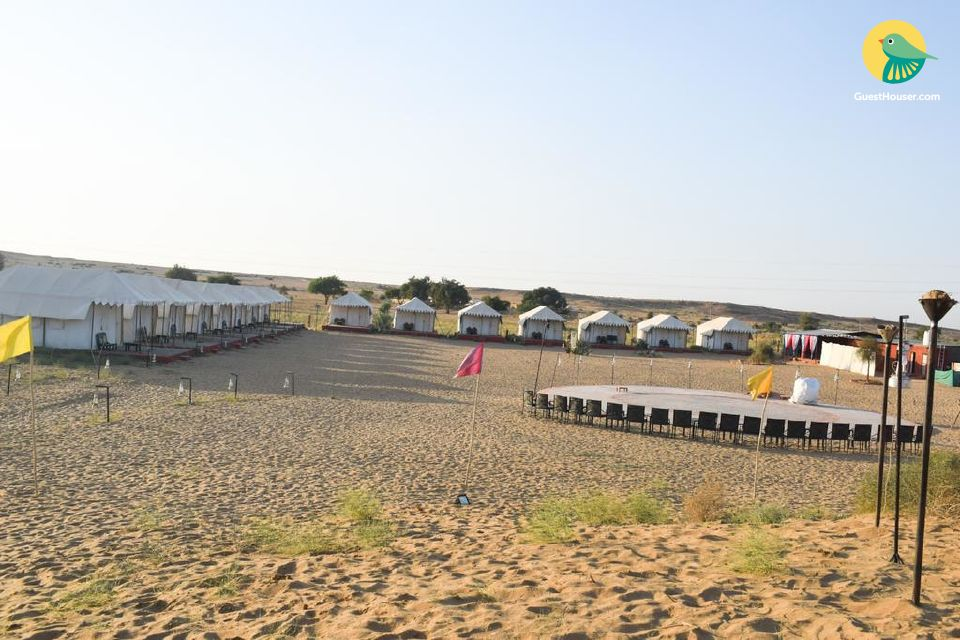 Deluxe Tents  for three in Jaisalmer