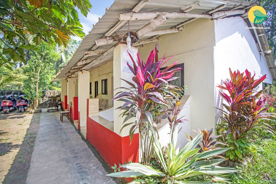 An idyllic stopover for a couple, 500 m from Anjuna Beach