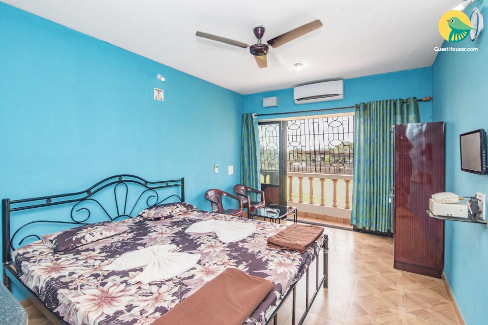 Restful stay for three, close to Calangute beach